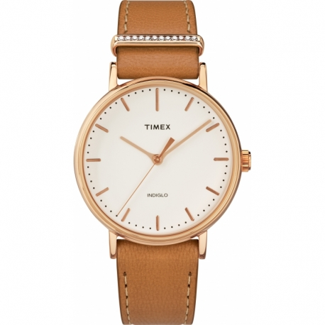Женские часы Timex WEEKENDER Fairfield Crystal Tx2r70200