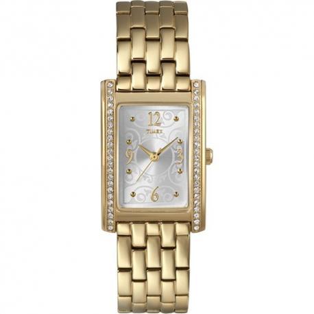 Женские часы Timex CRYSTAL Rectangle Tx2n144
