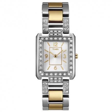 Женские часы Timex CRYSTAL Square Tx2n034