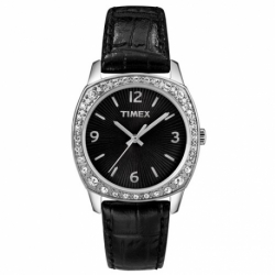Женские часы Timex CRYSTAL Cushion Tx2n037