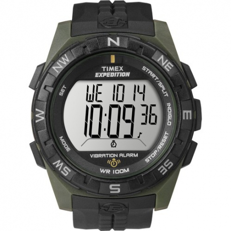 Мужские часы Timex EXPEDITION Vib Alarm Tx49852