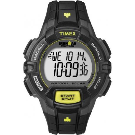 Мужские часы Timex IRONMAN Triathlon 30Lp Rugged Tx5k790