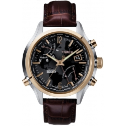 Мужские часы Timex Intelligent Quartz World Time Tx2n942