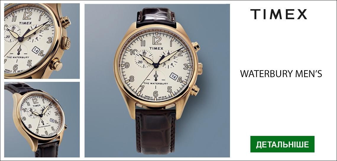 Мужские часы Timex WATERBURY Chrono. Выбрать сейчас!